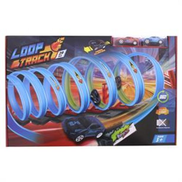 Toy Loop Track Play Set With 2 Cars offer at £7.99