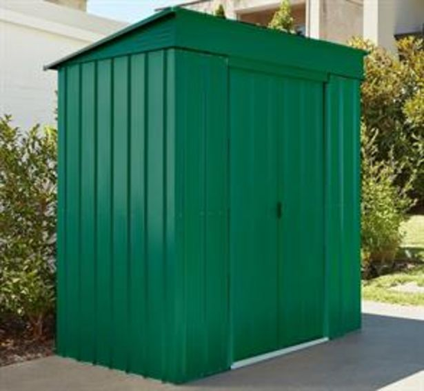 Store More Lotus Metal Pent Roof Shed 6 x 3 offer at £219.99