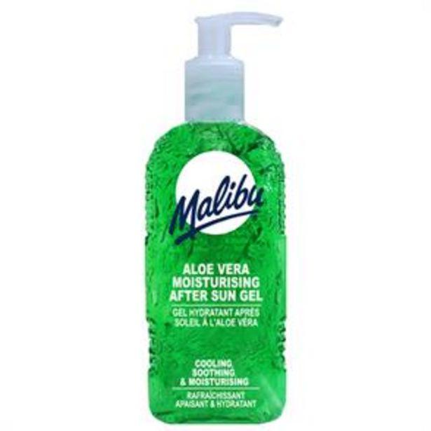 Malibu: Aloe Vera Moisturising After Sun Gel 400ml offer at £2.99