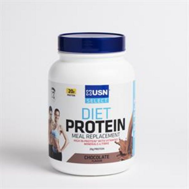 USN Select Diet Protein 850g - Chocolate offer at £12.99