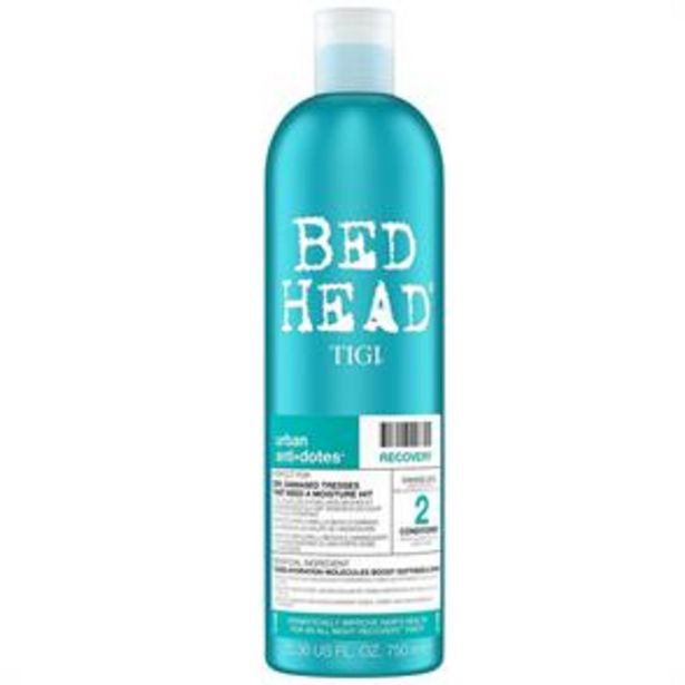 Bed Head TIGI Urban AntiDotes Recovery Conditioner 750ml offer at £6.99