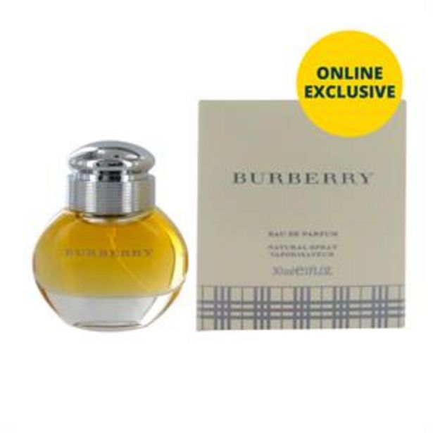 Burberry Eau de Parfum Natural Spray Vaporisateur 30ml offer at £21.99