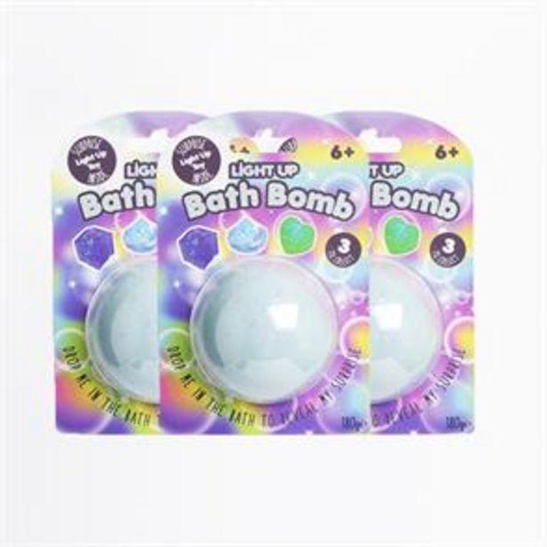 Bath Fizzer: Light Up Bath Bomb (Case of 3 x 180g) offer at £5.07