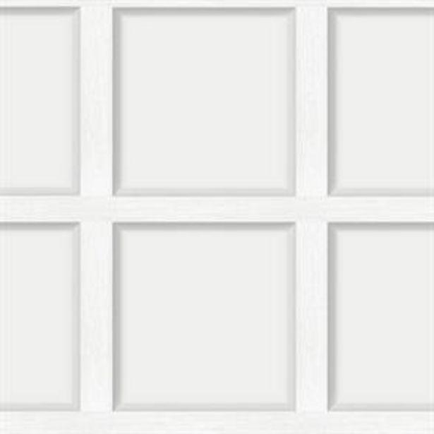 Modern Wood Panel Dove Wallpaper offer at £9.99