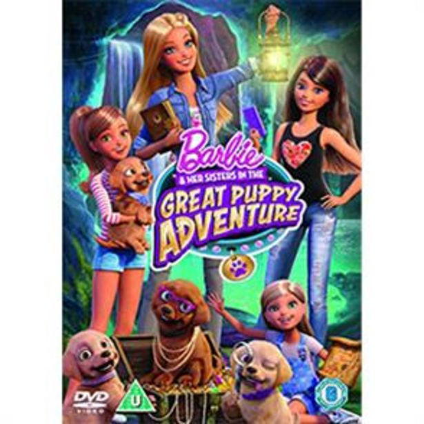 Barbie & Her Sisters in the Great Puppy Adventure offer at £2.99
