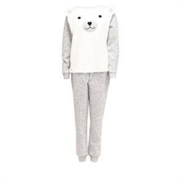 Polar Bear Pyjama 2 Piece Set offer at £13.99