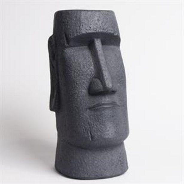 Mo'ai Head Garden Statue - 40cm offer at £12.99