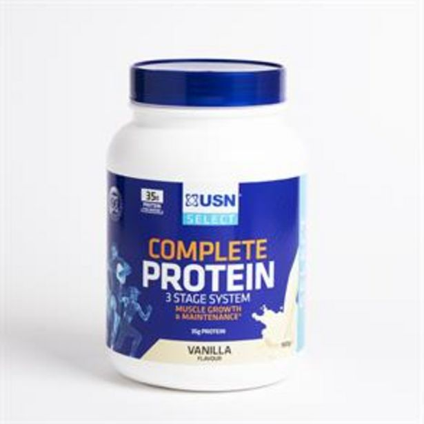 USN Select Complete Protein 900g - Vanilla offer at £14.99