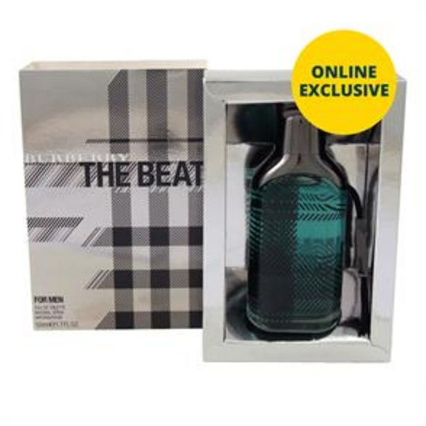 Burberry The Beat For Men 50ml EDT Spray offer at £19.99