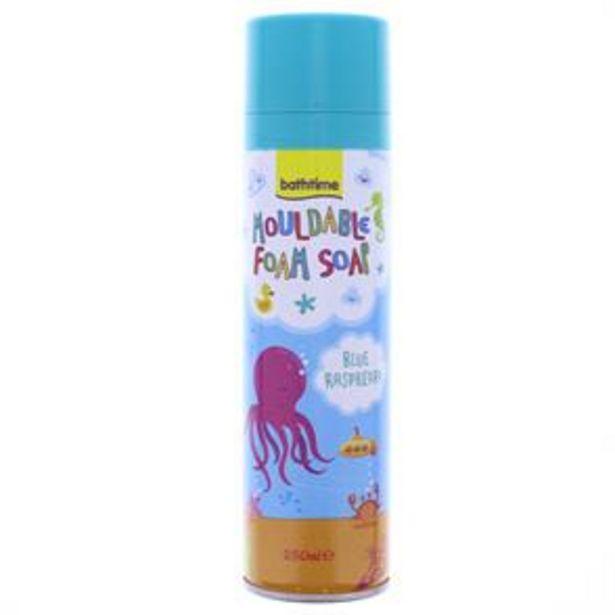 Bathtime Mouldable Foam Soap 250ml (6 x 250ml Bottle) offer at £4.74