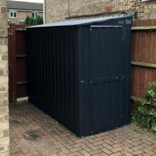 Store More Lotus Metal Lean- To Shed 4 x 6 offer at £279.99