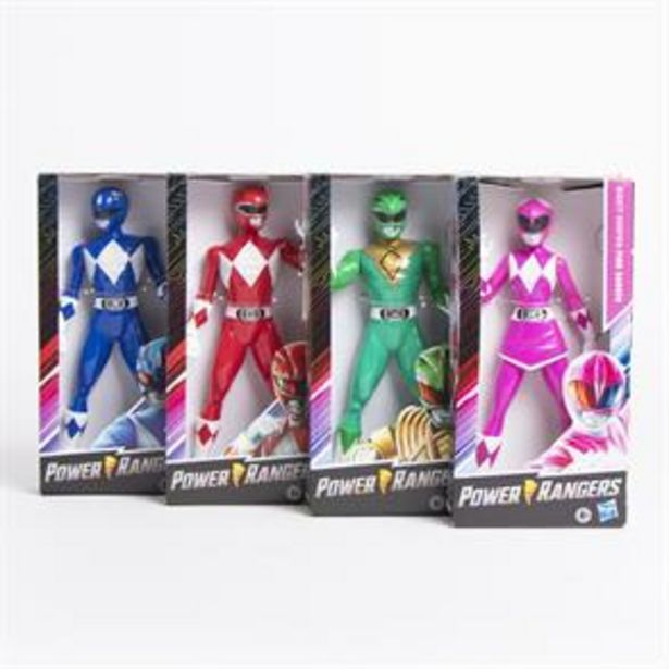 """Power Rangers 9.5"""" Figure (Assorted) offer at £6.99"""