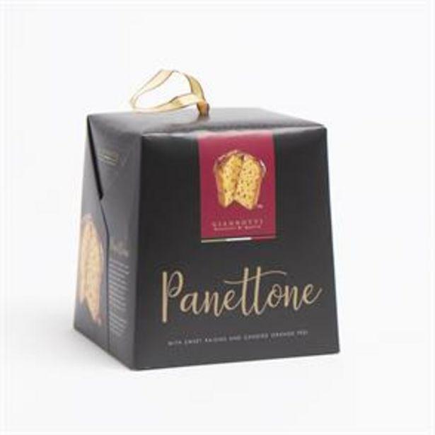 Giannotti: Panettone with Sweet Raisins & Orange Peel 500g offer at £1.99