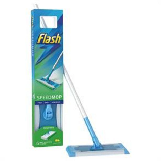 Flash Speedmop & 6 Speedmop Cloths offer at £9.49