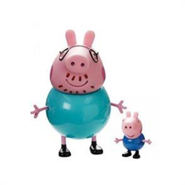 Peppa Pig: Figures 2 Pack - Daddy Pig & George offer at £4.99
