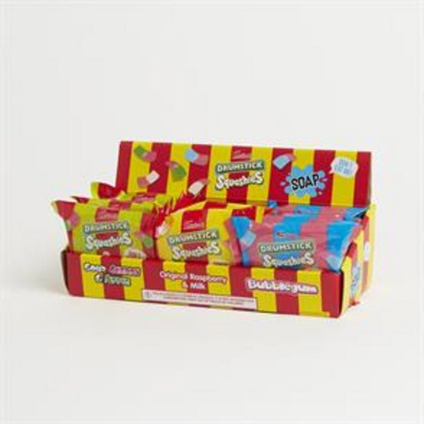 Swizzels Drumstick Squashies Assorted Soap (12 x 120g) offer at £17.88