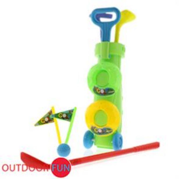 Mini Junior Toy Golf Set offer at £5.99