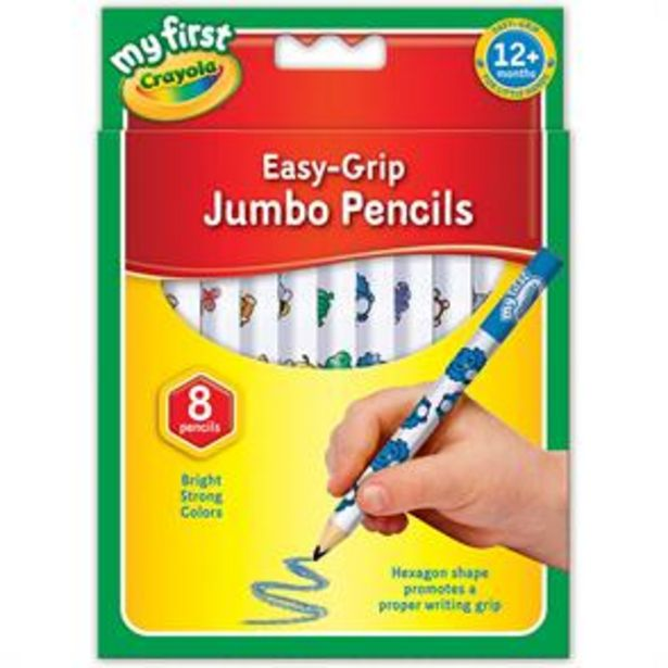 Crayola My First Easy-Grip Jumbo Pencils offer at £2.99