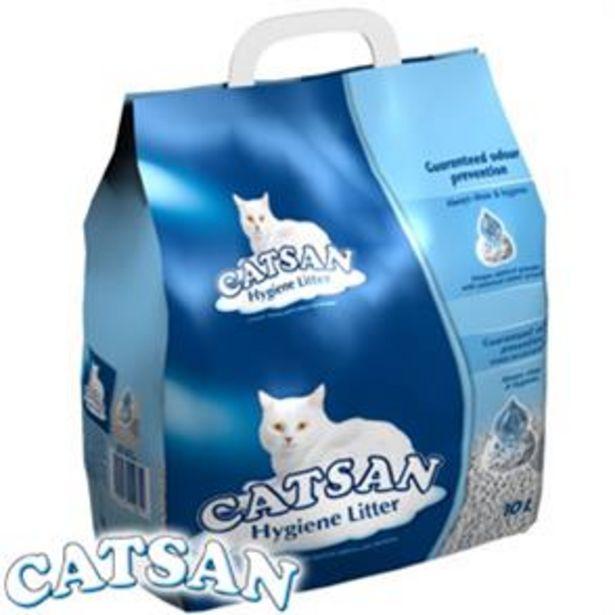 Catsan Hygiene Cat Litter: 10 Litre Bag offer at £5.49
