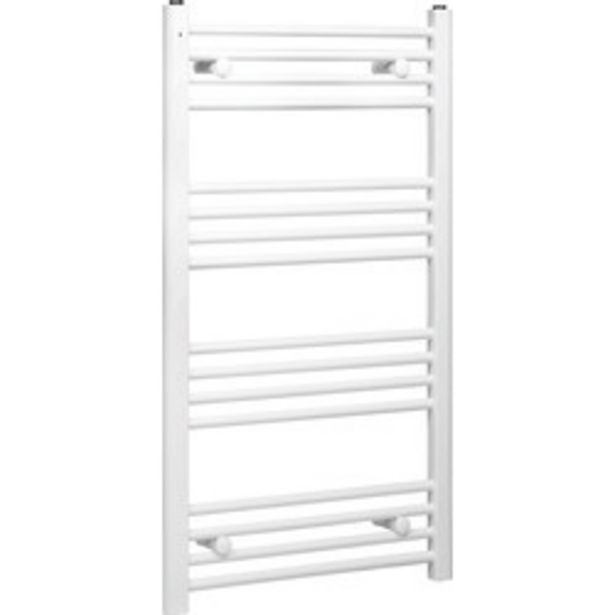 White Flat Towel Radiator                    1000 x 550mm 1493Btu offer at £24.99
