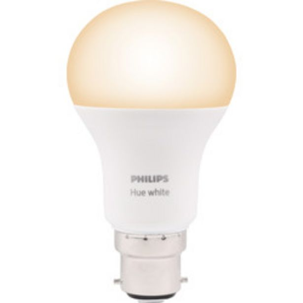 Philips Hue White Lamp                    B22/BC offer at £8.98