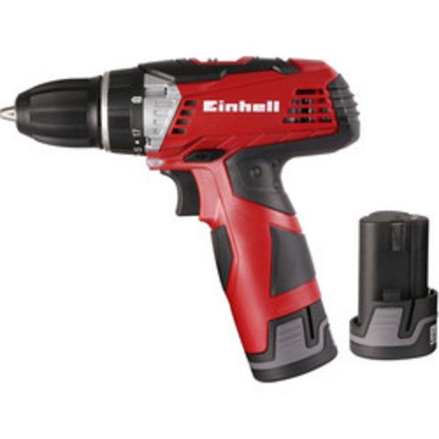 Einhell 12V Li-Ion Cordless Drill Driver                    2 x 1.3Ah offer at £49.98