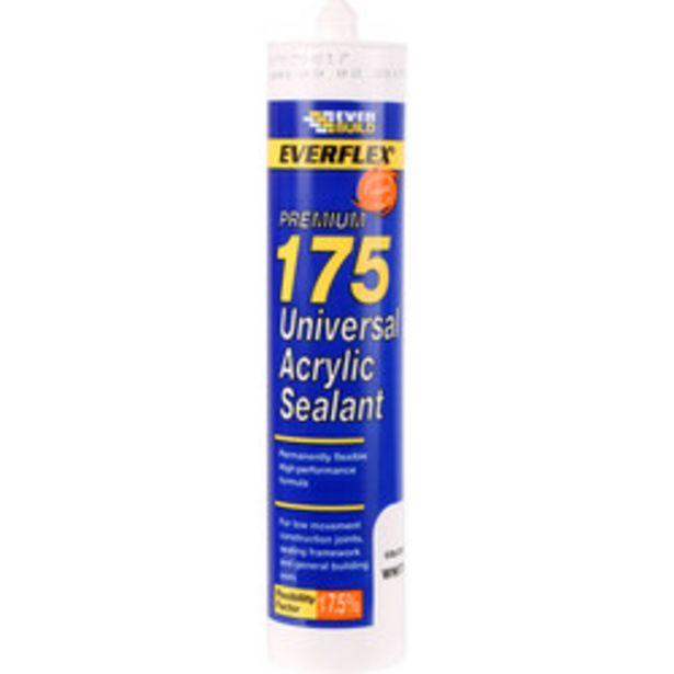 Premium Universal Acrylic Sealant                    300ml offer at £0.75