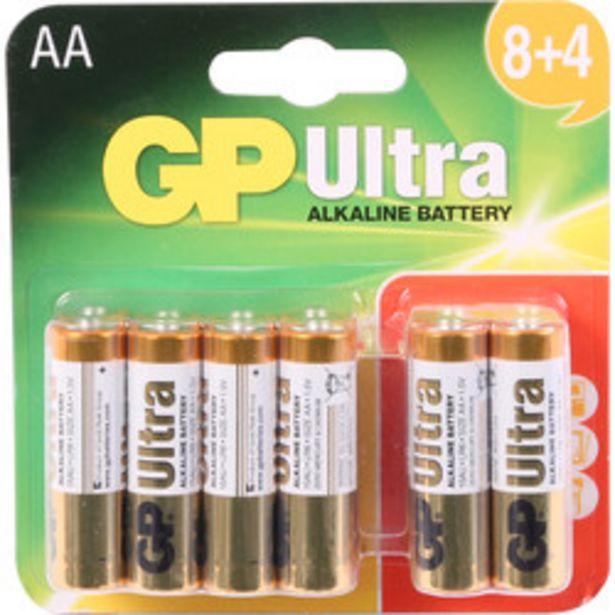 GP Ultra Alkaline Battery                    AA offer at £3.49
