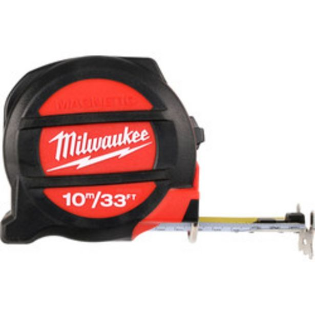 Milwaukee Premium Magnetic Tape Measure                    10m/33ft offer at £18