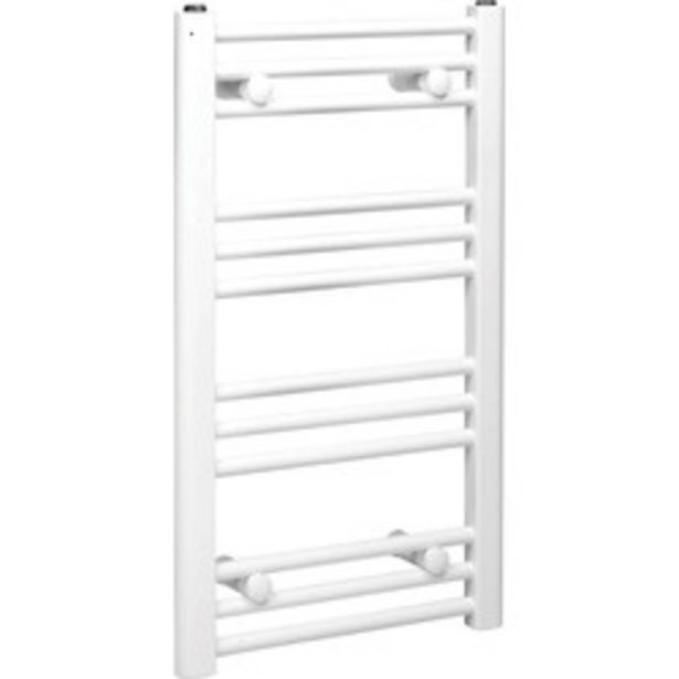 White Flat Towel Radiator                    1200 x 550mm 1831Btu offer at £35
