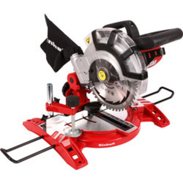 Einhell TC-MS 2112 1600W 210mm Single Bevel Mitre Saw                    240V offer at £59.98