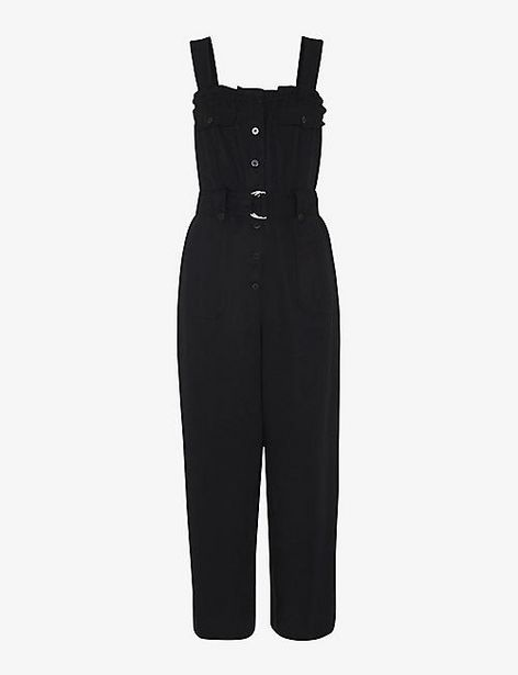 WHISTLES  Frilled sleeveless woven jumpsuit offer at £99