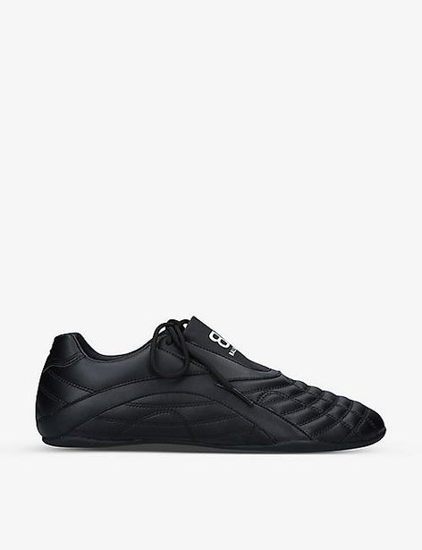 Zen panelled faux-leather slip-on trainers offer at £315