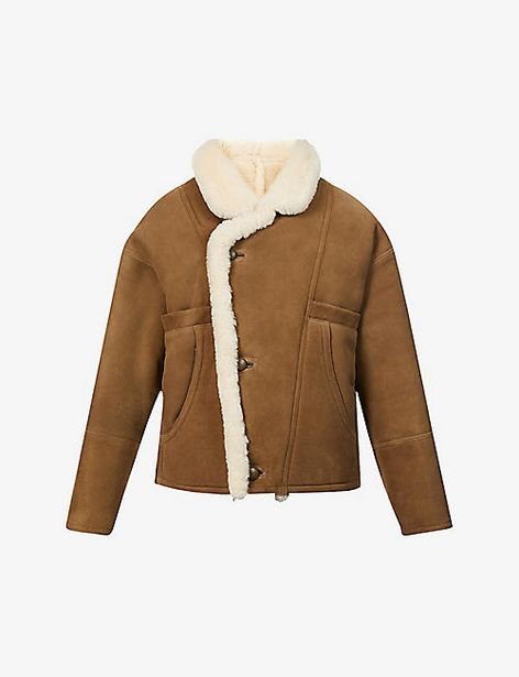 Sherly oversized suede jacket offer at £1036