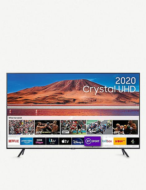 "75"" TU7100 HDR Smart 4K TV with Tizen OS offer at £849"
