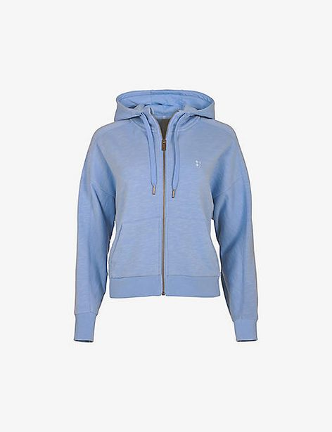 SWEATY BETTY  Essentials cropped cotton hoody offer at £56.25