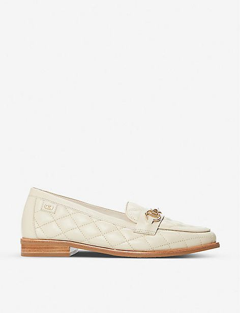 DUNE  Games quilted leather loafers offer at £55