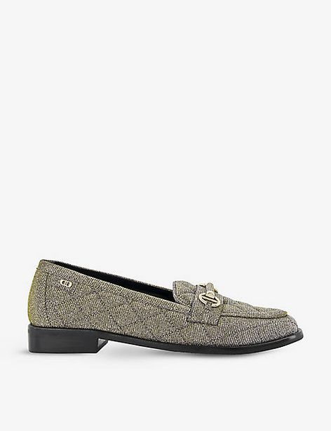 DUNE  Games quilted woven loafers offer at £60