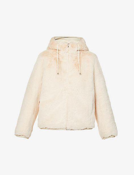 Bayapo drawstring-hood faux-fur jacket offer at £319.2