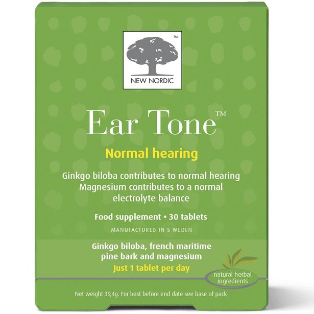New Nordic ear tone 30 tablets offer at £24.95