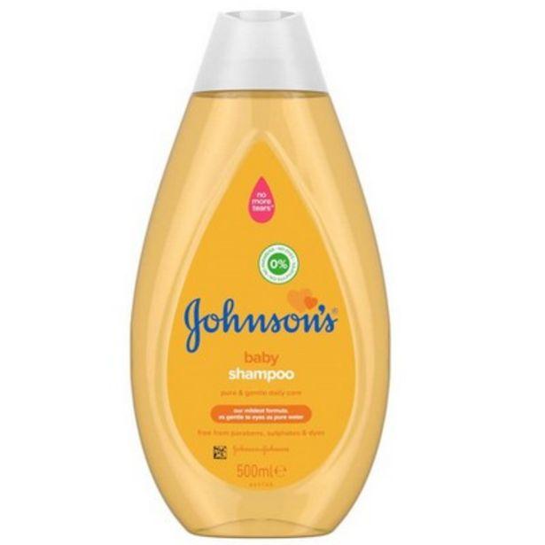 Johnson's® baby shampoo 500ml offer at £1.66