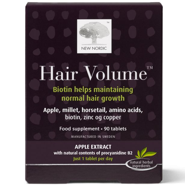 New Nordic hair volume offer at £39.97