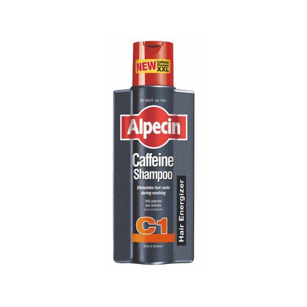 Alpecin C1 caffeine shampoo offer at £15.5