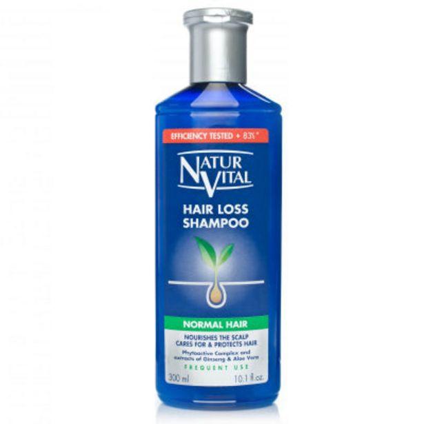 Natur Vital hair loss shampoo normal 300ml offer at £7.49