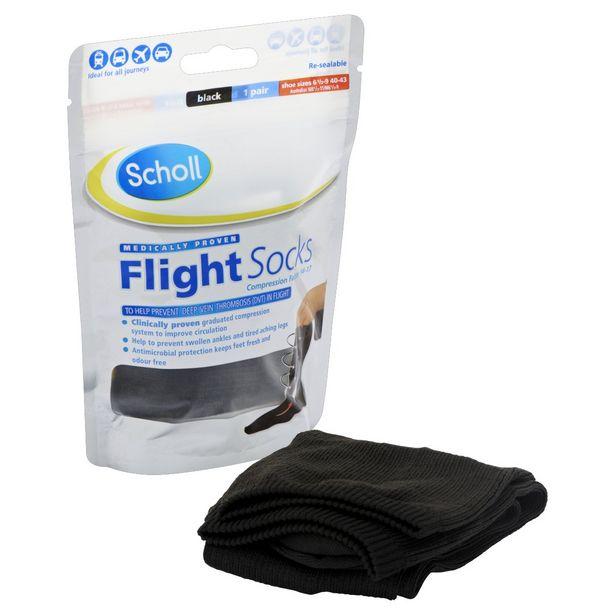 Scholl flight socks 6.5-9 offer at £15.99