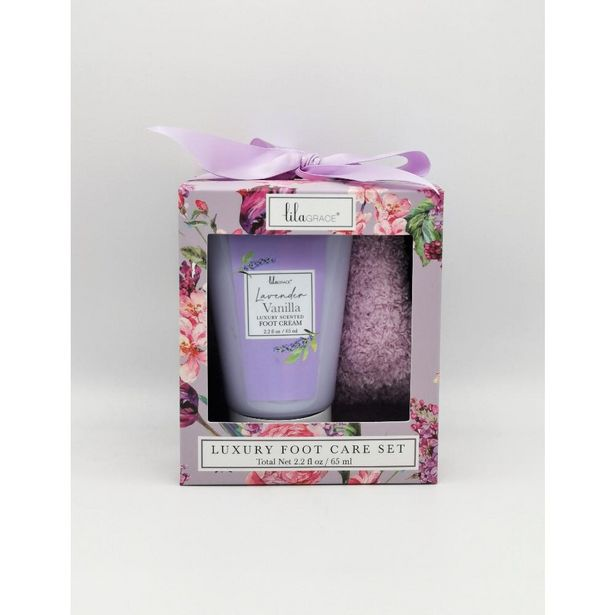 Lila Grace luxury foot care set offer at £3.33