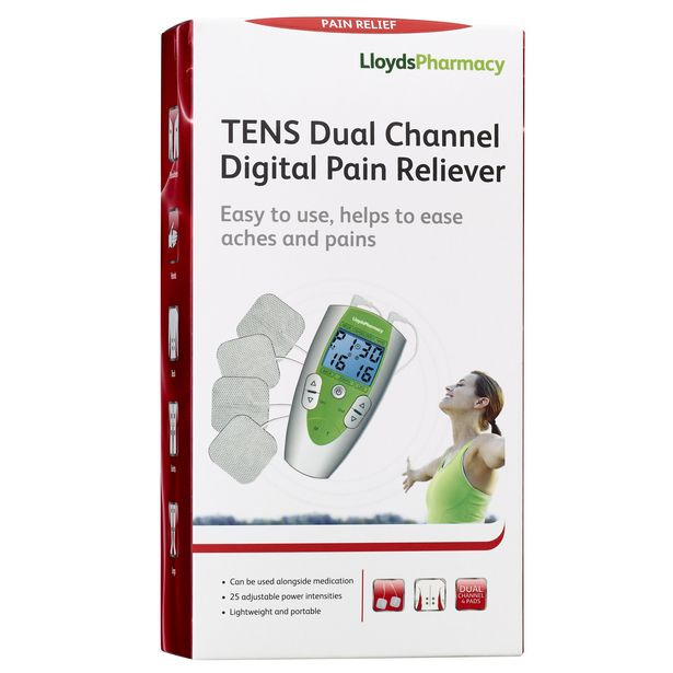 LloydsPharmacy dual channel digital TENS pain reliever offer at £19.99