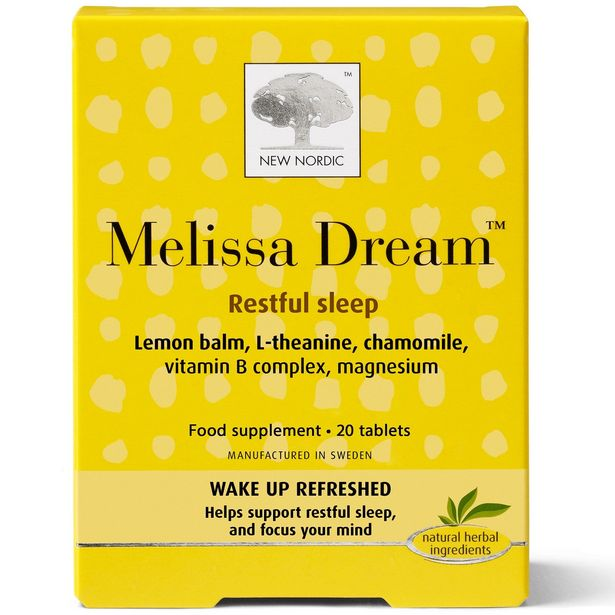 New Nordic Melissa dream™ tablets offer at £7.99
