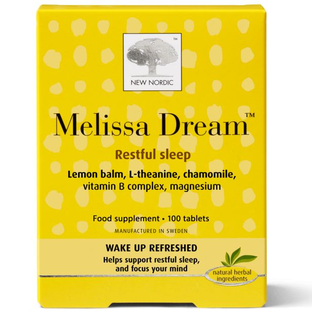 New Nordic Melissa dream™ tablets offer at £29.95
