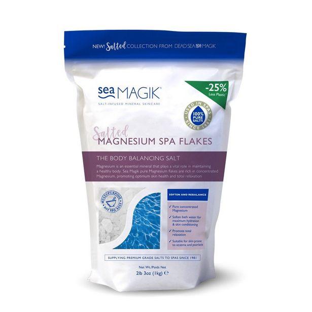 Spa Magik sea magik magnesium spa flakes 1kg offer at £5.99